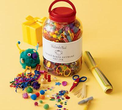 I'm Not Bored Anymore Art Jar From The Land of Nod