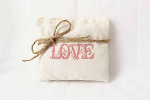 handmade love sachet from etsy