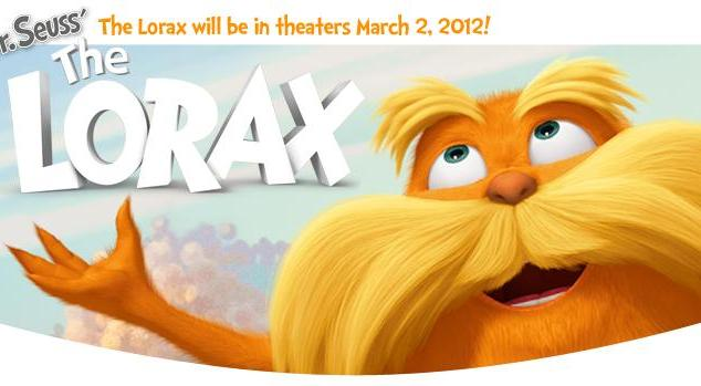 """HP Sponsors Universal Pictures & Illumination Entertainment's 3-D Feature """"Dr. Seuss' The Lorax"""" (Giveaway!)"""