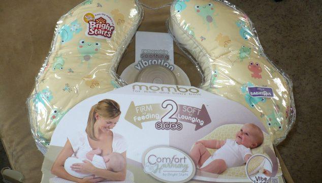 mombo™ from Comfort & Harmony™ Vibrating Nursing Pillow