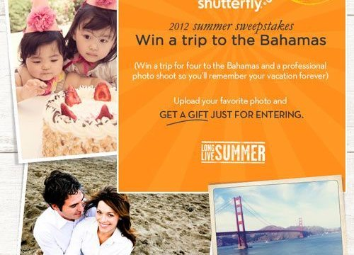 Shutterfly's Long Live Summer Photo Contest on Facebook!! Enter Today!