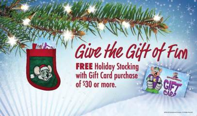 Chuck E Cheeses Gift Cards