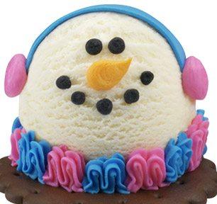 snowman individual treat