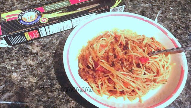 Dreamfields Pasta Easy & Delicious Spaghetti Recipe  #Dreamfields