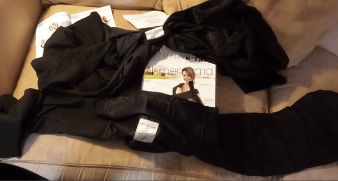 Black Breeze Baby K'tan Baby Carrier Review