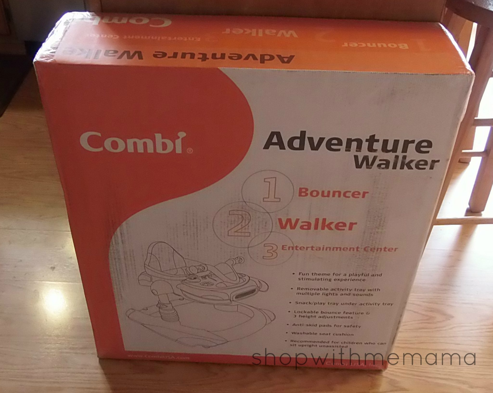 7adaee8a6 Combi Adventure Walker Review - Shop With Me Mama