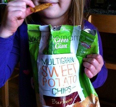 Green Giant: Veggie Snack Chips #GiantFlavor