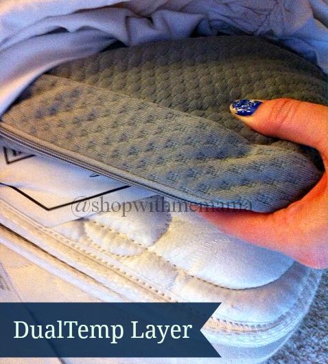 sleep number dualtemp layer