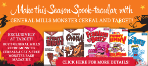 Target Monster Cereals #MyBlogSpark