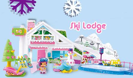 pinypon ski lodge