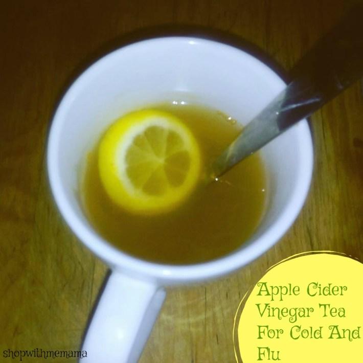 Apple Cider Vinegar Tea For Cold And Flu