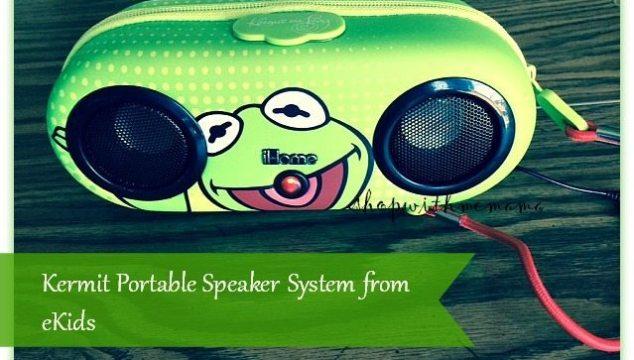 Kermit Portable Speaker System from eKids