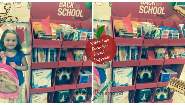 School Supplies Are New This Year To Kohl's! #Kohls101 #spon