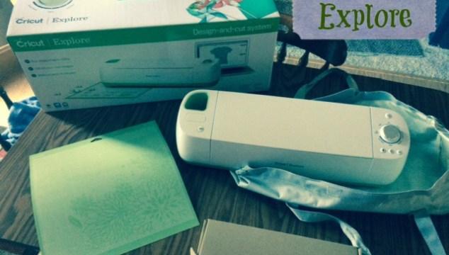 The Cricut Explore Design-and-Cut Machine