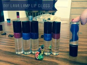 DIY Lava Lamp Lip Gloss Kit #giftguide