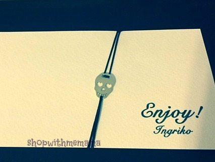 Sterling Silver Skull Bracelet #giftguide
