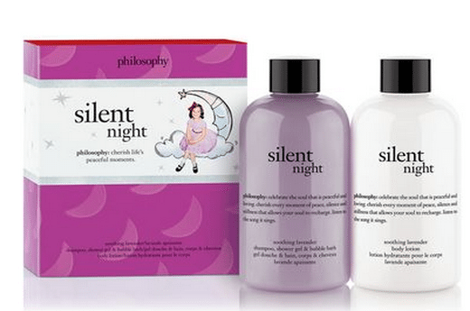 Silent Night Duo from philosophy #giftguide