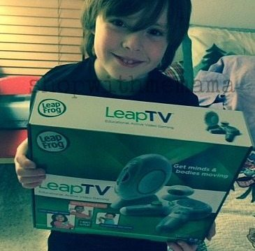LeapTV from LeapFrog Gets Kids Moving!  #LeapTV #MommyParties