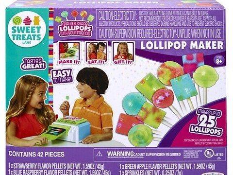 Sweet Treats Lane Lollipop Candy Maker #jakkstoys