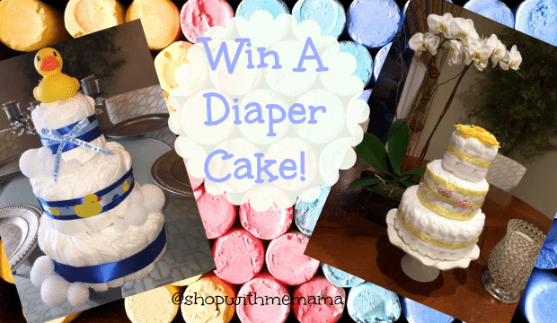 Enter To Win A Diaper Cake From Nadia! #baby #giveaway
