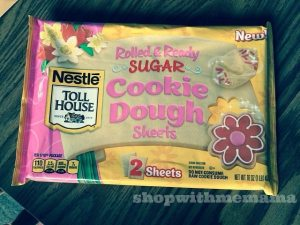 Nestle' Toll House Rolled & Ready Cookie Dough Sheets #NestleTollHouse #CookieDoughSheets