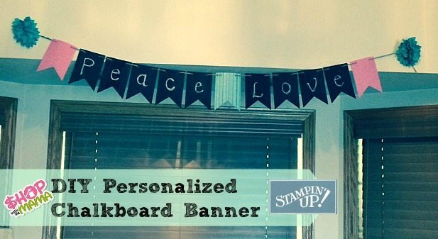 Create A Customized Chalkboard Banner Easily! (Giveaway)
