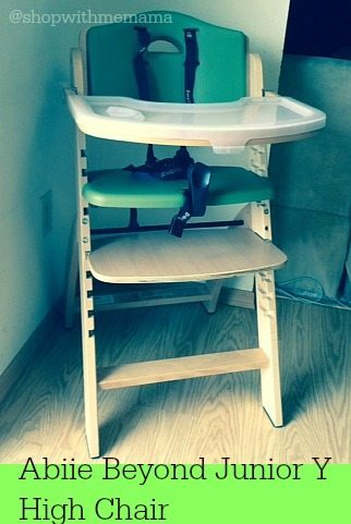 Abiie Beyond Junior Y High Chair