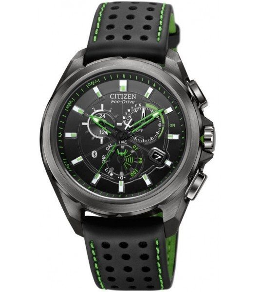 Citizen Mens Eco-Drive Proximity Bluetooth Multifunction Stainless Watch
