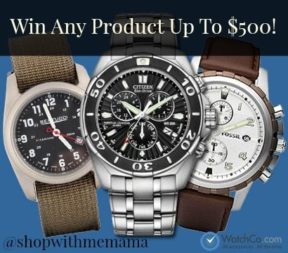 Great Deals On Citizen Watches, Fossil Watches, Seiko Watches & More