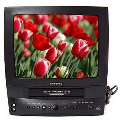 VCR/TV Combo