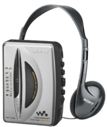 sony walkman cassette tape