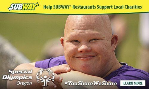SUBWAY® You Share. We Share. #youshareweshare #Portland