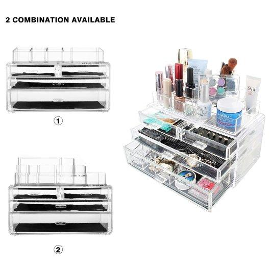 MelodySusie® Large Capacity Cosmetic Organizer