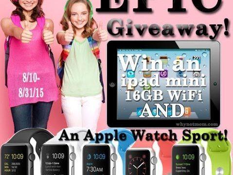 Win An Apple Watch Sport & iPad Mini & 12mo of Freedome®!