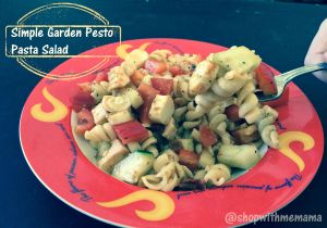 Simple Garden Pesto Pasta Salad Recipe #Pastapalooza #HealthyPasta