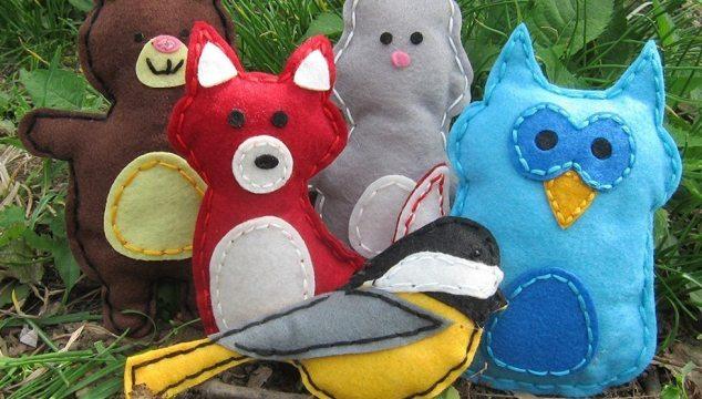 Woodland Animals Kids Arts & Crafts Project Kit