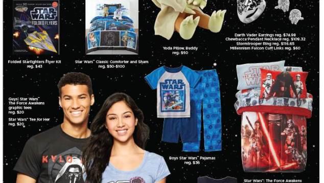 The Force Awakens at JCPenney!