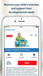 BabyLOVE, A Personal Toy Shopping App for Mobile Parents!