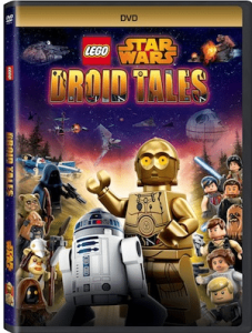 Lego Star Wars: Droid Tales On DVD!