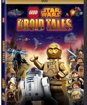Lego Star Wars: Droid Tales On DVD!