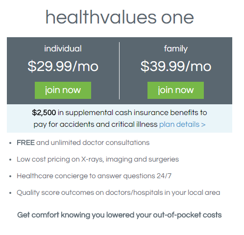 healthvalues one