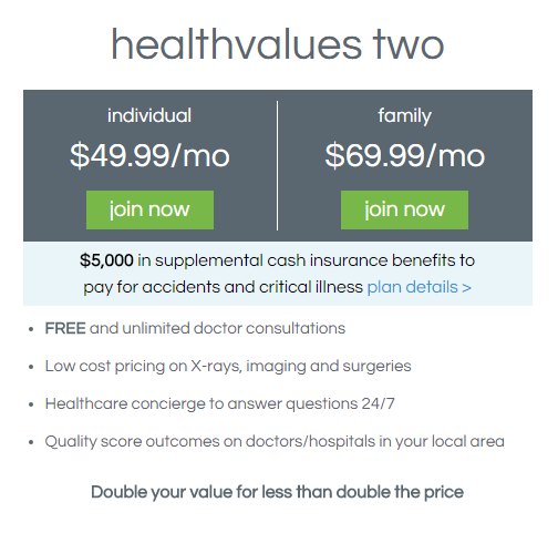 healthvalues two