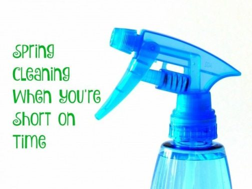 Spring Cleaning When You're Short on Time