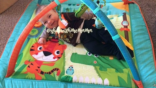 NEW Tiny Love Gymini Kick & Play City Safari (Giveaway)