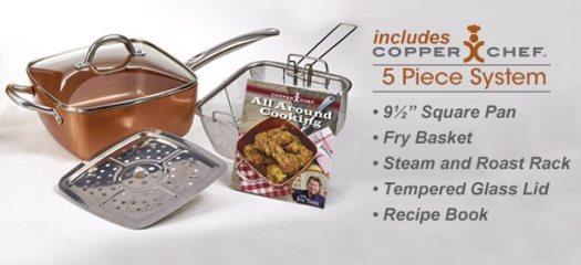 Copper Chef 5-Piece cooking Set