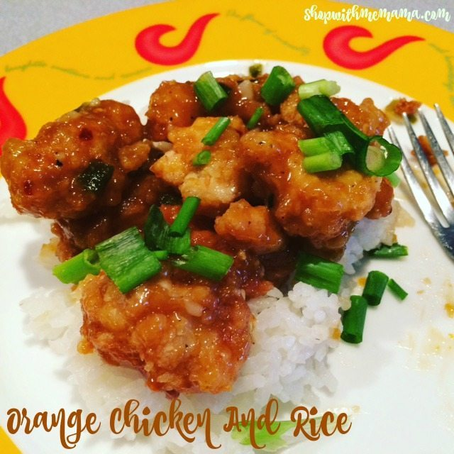 How To Make Delicious Orange Chicken and Rice