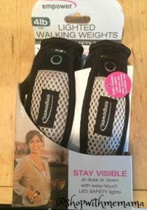 Get Fit With These Lighted Walking Weights