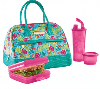 Tupperware Tropical Glamour Lunch Set