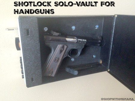Shotlock Solo-Vault For Handguns