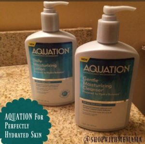 Use AQUATION For Perfectly Hydrated And Healthy Skin!